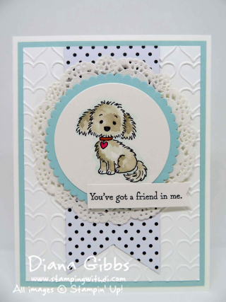 Bella & Friends Diana Gibbs Stampin' Up!