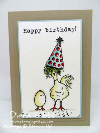 Hey, Chick Party with Cake Better Together Diana Gibbs Stampin' Up!