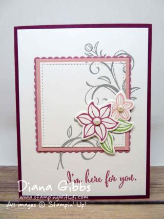 Falling Flowers Diana Gibbs