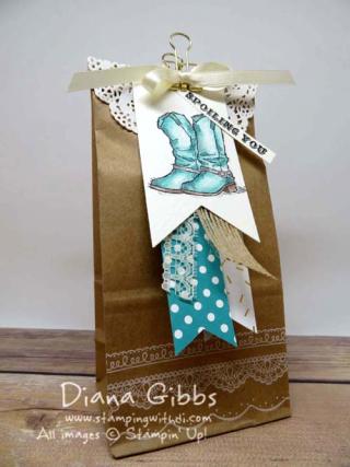 Country Livin Petite Cafe Bag Diana Gibbs