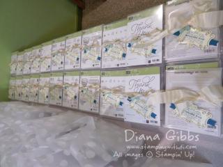 BINGO prizes Diana Gibbs