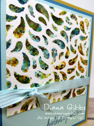 Infusions Color Stains and stencils Diana Gibbs