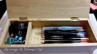 inside pencil box Diana Gibbs