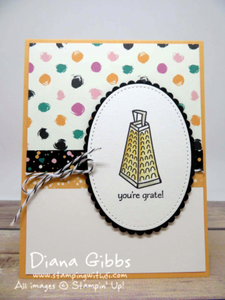 Perfect Mix Diana Gibbs Stampin' Up! Marisa Alvarez inspired