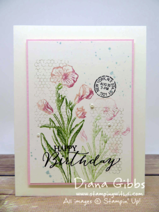 Butterfly Basics Diana Gibbs Stampin' Up! Hadassa inspired