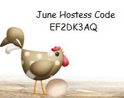 June Hostess Code Button