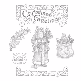 Father Christmas Class in the Mail July Diana Gibbs