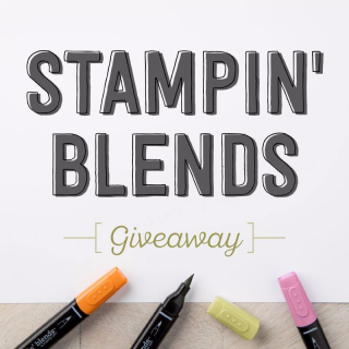 Stampin' Blends Give Away