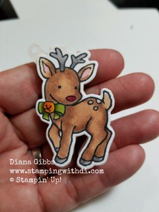 Seasonal Chums Deer Diana Gibbs