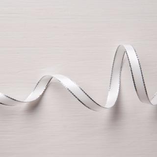 Silver Metallic Edge Ribbon November INKcentive