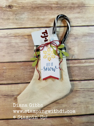 Paper pumpkin stocking class gift cardwatermarked