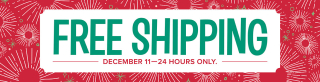 Free shipping dec 11