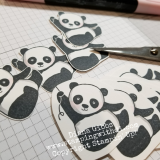 Spring Social Party Pandas www.stampingwithdi.com