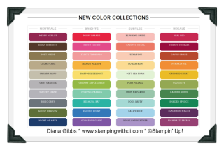 New Colors 2018 www.stampingwithdi.com