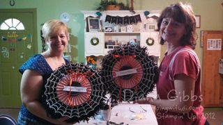 Frightful Wreath Class Mel & Kim