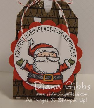 Get Your Santa On Candy Treat box