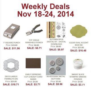 Weekly deal 11 18