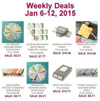 Weekly deals 1 6 2015