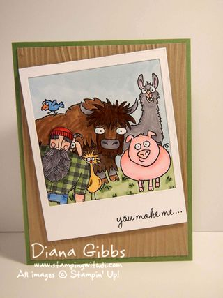 From the Herd meets Wood You Be Mine Diana Gibbs Stampin' Up! full