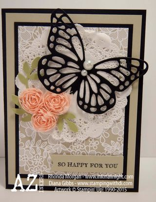 Simply Wonderful Diana Gibbs Stampin' Up! Sale-A-Bration