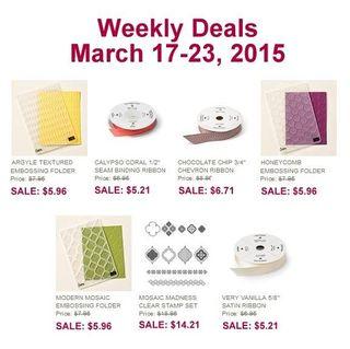 Weekly deal 3 17 2015