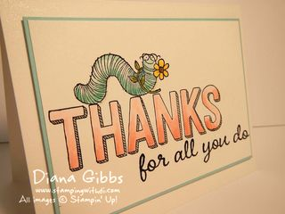 For Being You Diana Gibbs Stampin' Up!