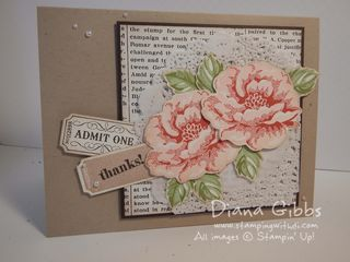 Stippled Blossoms Diana Gibbs Stampin' Up!