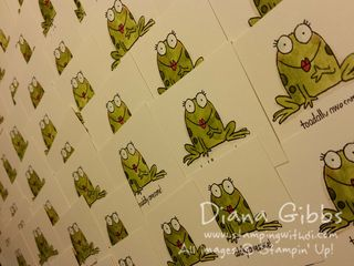 You're Sublime Diana Gibbs Stampin' Up! froggie