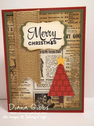 Merry Moments Diana Gibbs Susan Beach inspired