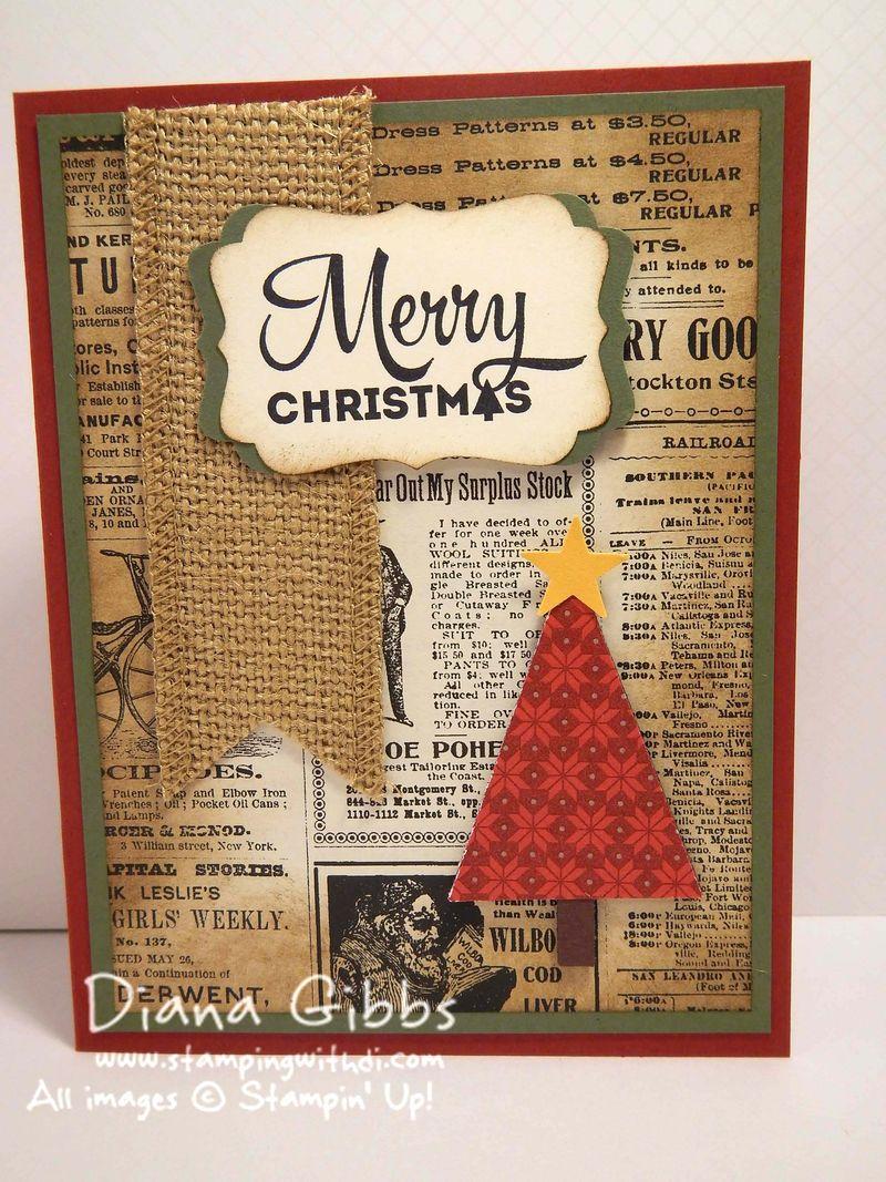Merry Moments Diana Gibbs Susan Beach inspired