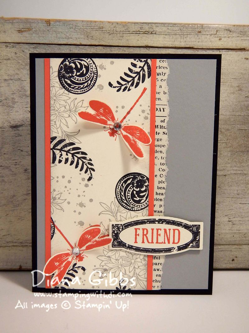 Class in the Mail Diana Gibbs Awesomely Artistic Stampin' Up!
