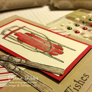 September Christmas Card of the Month Sneak Diana Gibbs copy