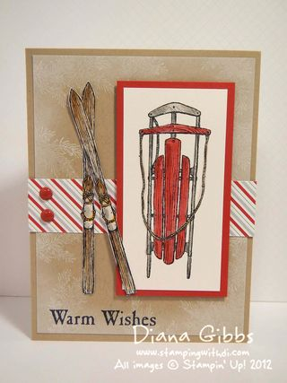 Winter Wishes Diana Gibbs Stampin' Up!