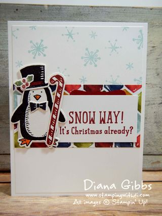 Snow Place Stampin' Up! Diana Gibbs