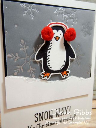Snow Play Diana Gibbs Stampin' Up!