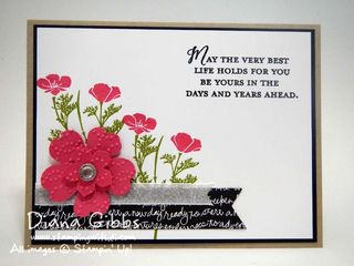 Wild About Flowers Stampin' Up! Diana Gibbs