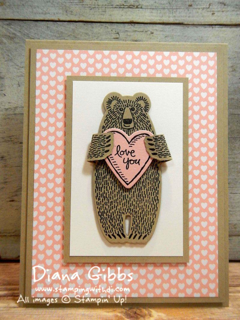 Bear Hugs Valentine Diana Gibbs