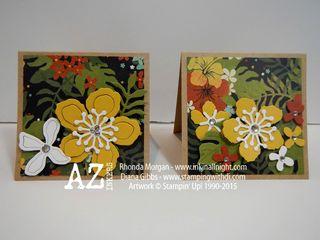 Spring Fling AZ INKers Diana Gibbs Botanical Gardens DSP