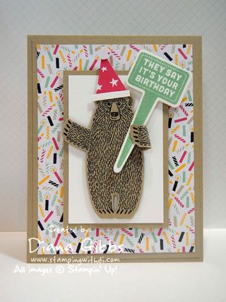 Bear Hugs Stake Your Claim Diana  Gibbs Stampin' Up!