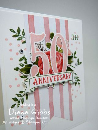 Number of Years 50 Diana Gibbs Stampin' Up!