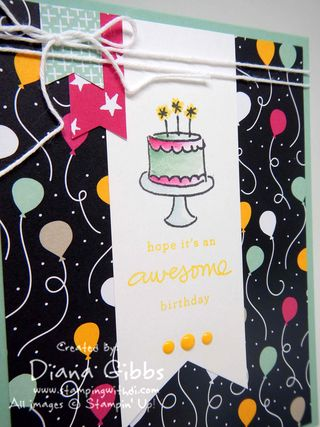 It's My Party Diana Gibbs Stampin' Up!