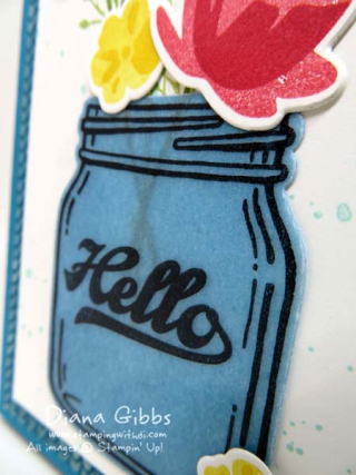 Diana Gibbs Jar of Love Stampin' Up! Vellum