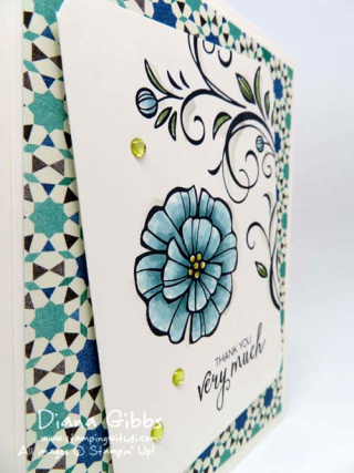 Falling Flowers Bunch of Blossoms Diana Gibbs Stampin' Up!