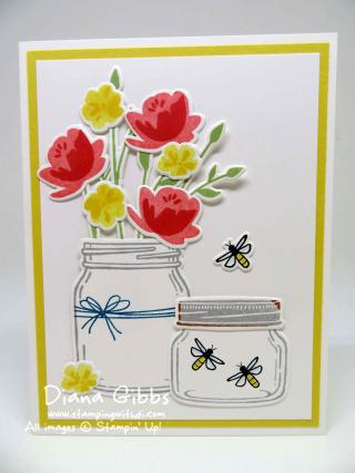 Jar of Love Diana Gibbs Stampin' Up!