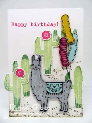 Birthday Fiesta Diana Gibbs Stampin' Up!
