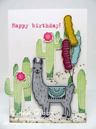 Birthday Fiesta Diana Gibbs Stampin' Up!