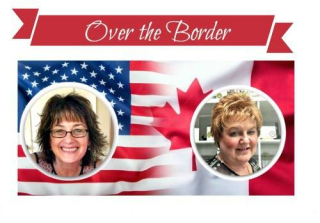 Over the Border Sandi and I