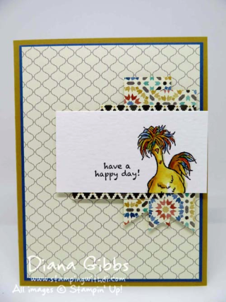 Mimeograph Monday & More ~ Hey, Chick Diana Gibbs Stampin' Up! Sale-A-Bration