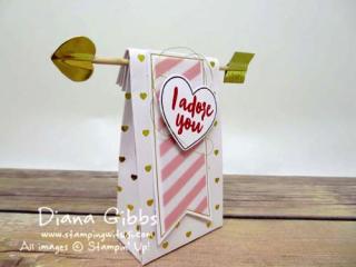 Adoring arrows Paper Pumpkin January Diana Gibbs