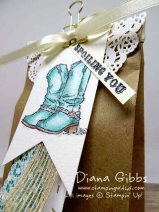 Petite Cafe Bag Country Livin' Diana Gibbs